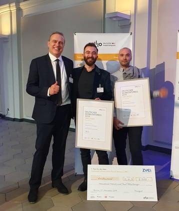 Preisträger beim deutschen Mobilitätspreis