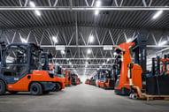 Toyota Gabelstapler mieten: 42.000 Mietgeräte dauerhaft in Europa verfügbar.